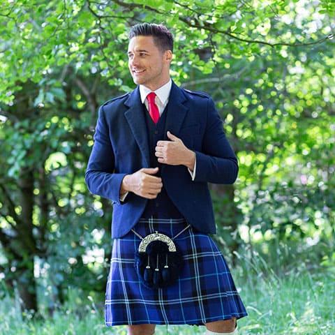 Modern Scot Blue